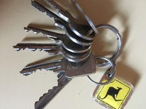 Schlüsselbund gefunden