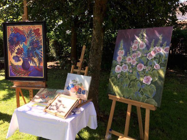Kunst im garten bei sch nstem sommerwetter wieder voller - Kunst im garten bilder ...